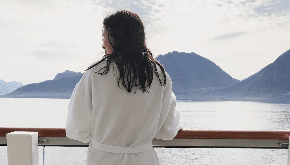 viking sky bathrobe norway