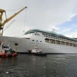 Rhapsody of the Seas enters month-long dry dock