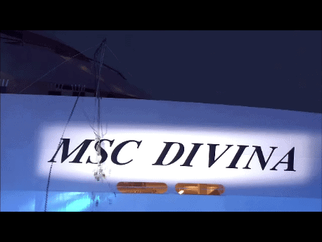 MSC Divina cruise ship officially christened in Marseille, France