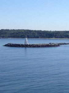 Lighthouse in Halifax, Nova Scotia.