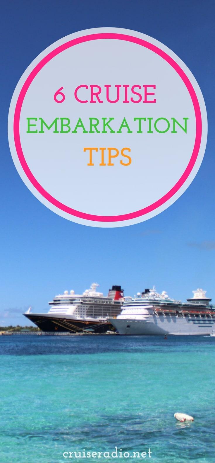 #embarkation #cruise #travel #vacation #cruising #traveltips