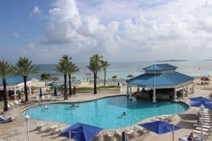 Sheraton Nassau Beach Resort and Casino.