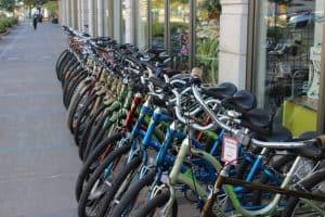 A very bike-able city.