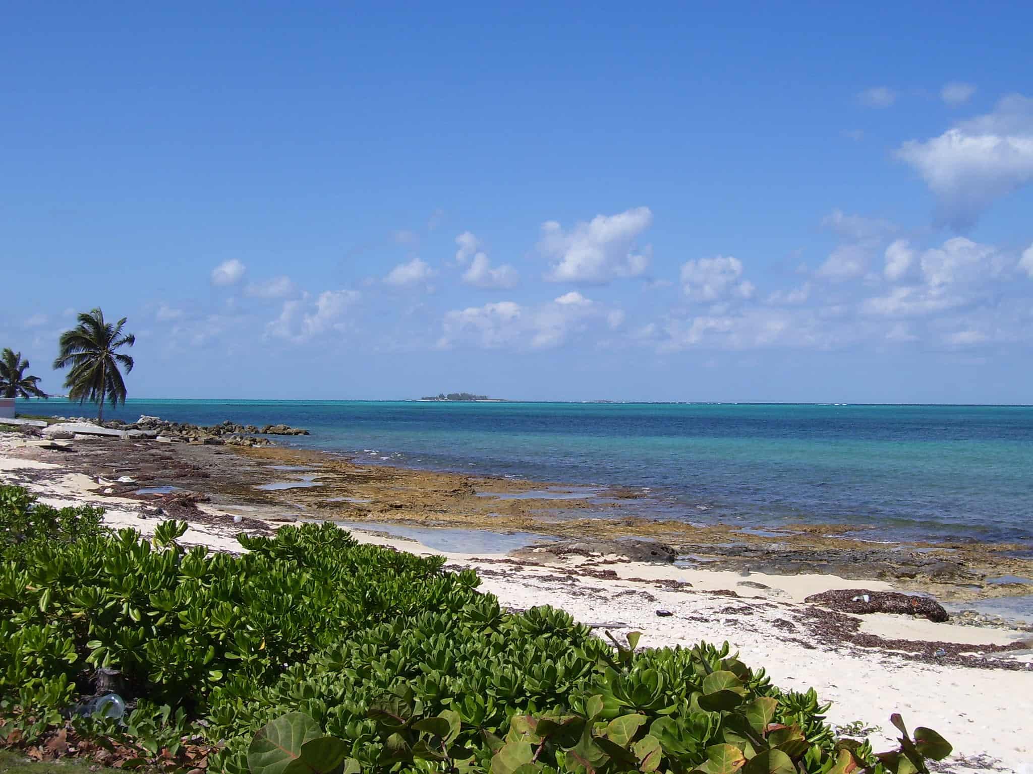saunders beach nassau bahamas flickr