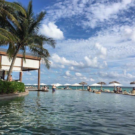 Infinity pool at Grand Lucayan Resort.