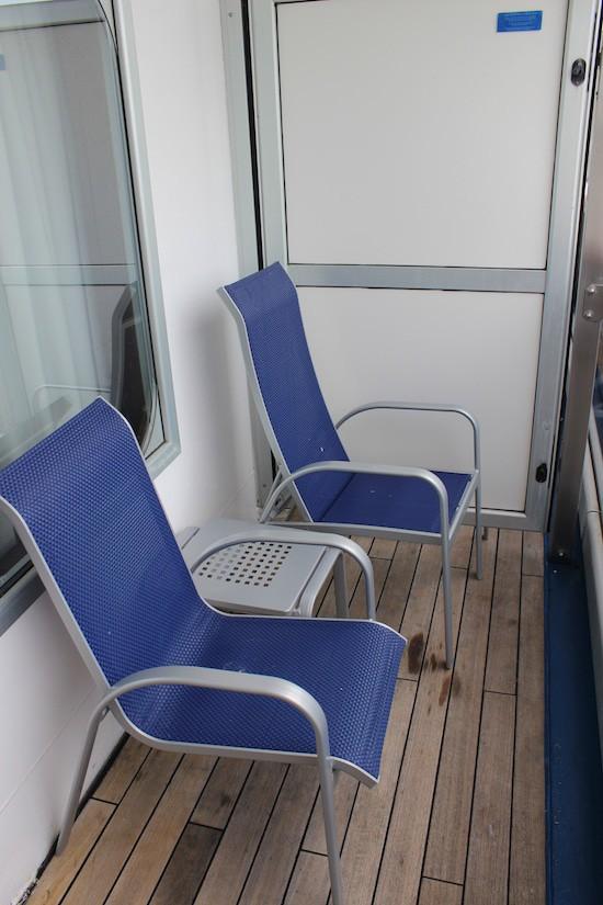 Balcony stateroom.