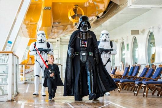Star Wars Cruises the Caribbean