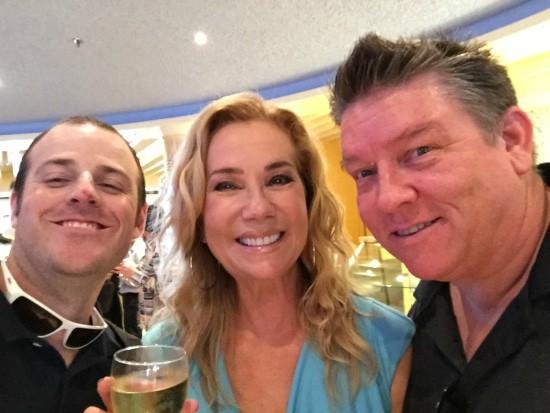 Doug, Kathie Lee Gifford and Amadeus.