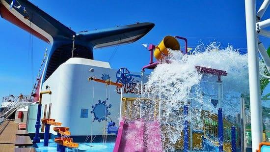 WaterWorks on Carnival Pride. photo: Nancy Schretter