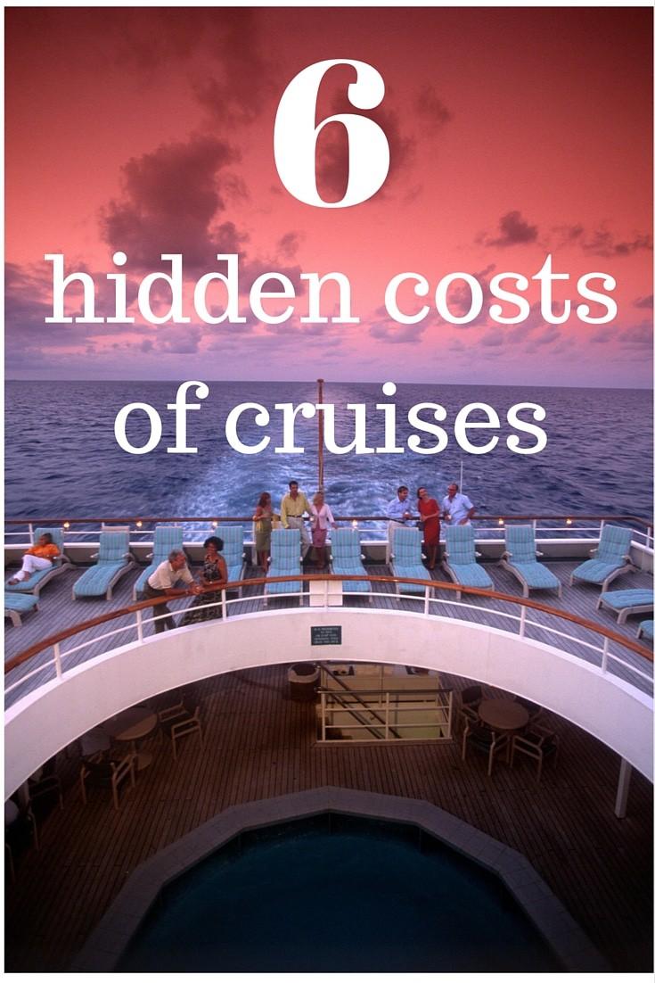 6 hidden costs of cruises