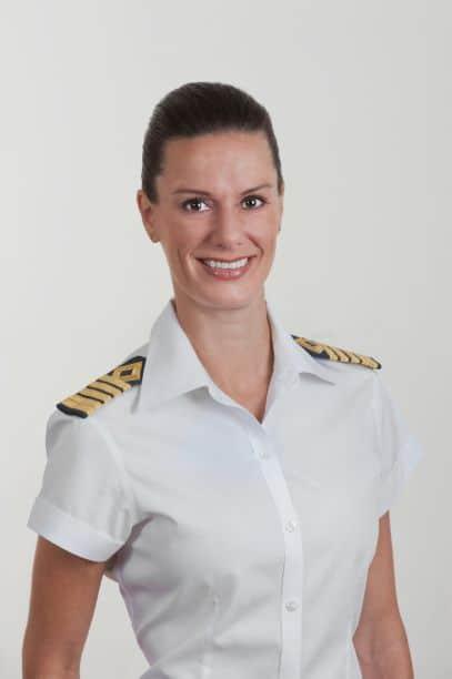 Captain Kate McCue. photo: Celebrity