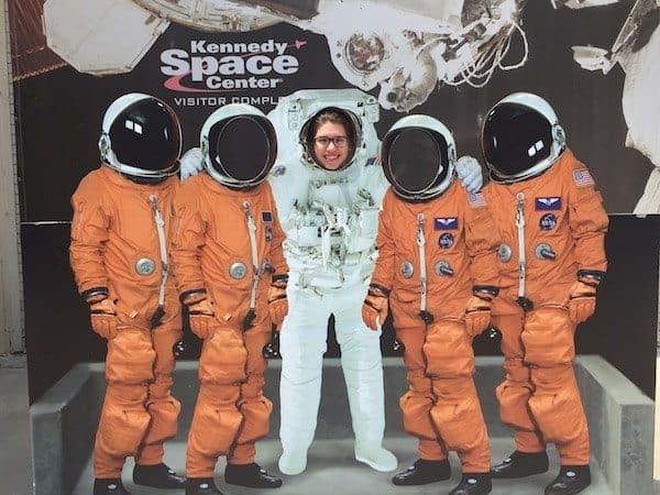 I'm an astronaut! (I wish)