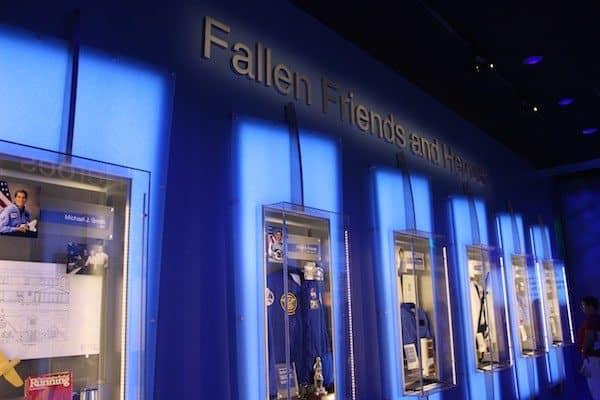 hallway of fallen astronauts