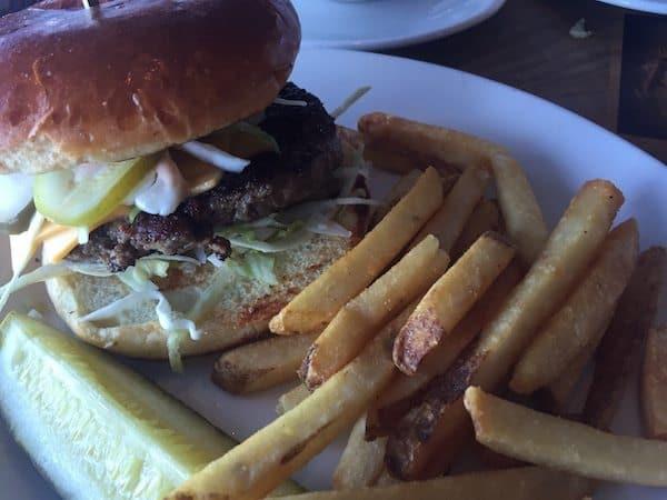 Cheeseburger in Paradise at Margaritaville.