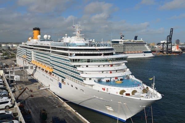 Costa Deliziosa Arrives in Port Everglades