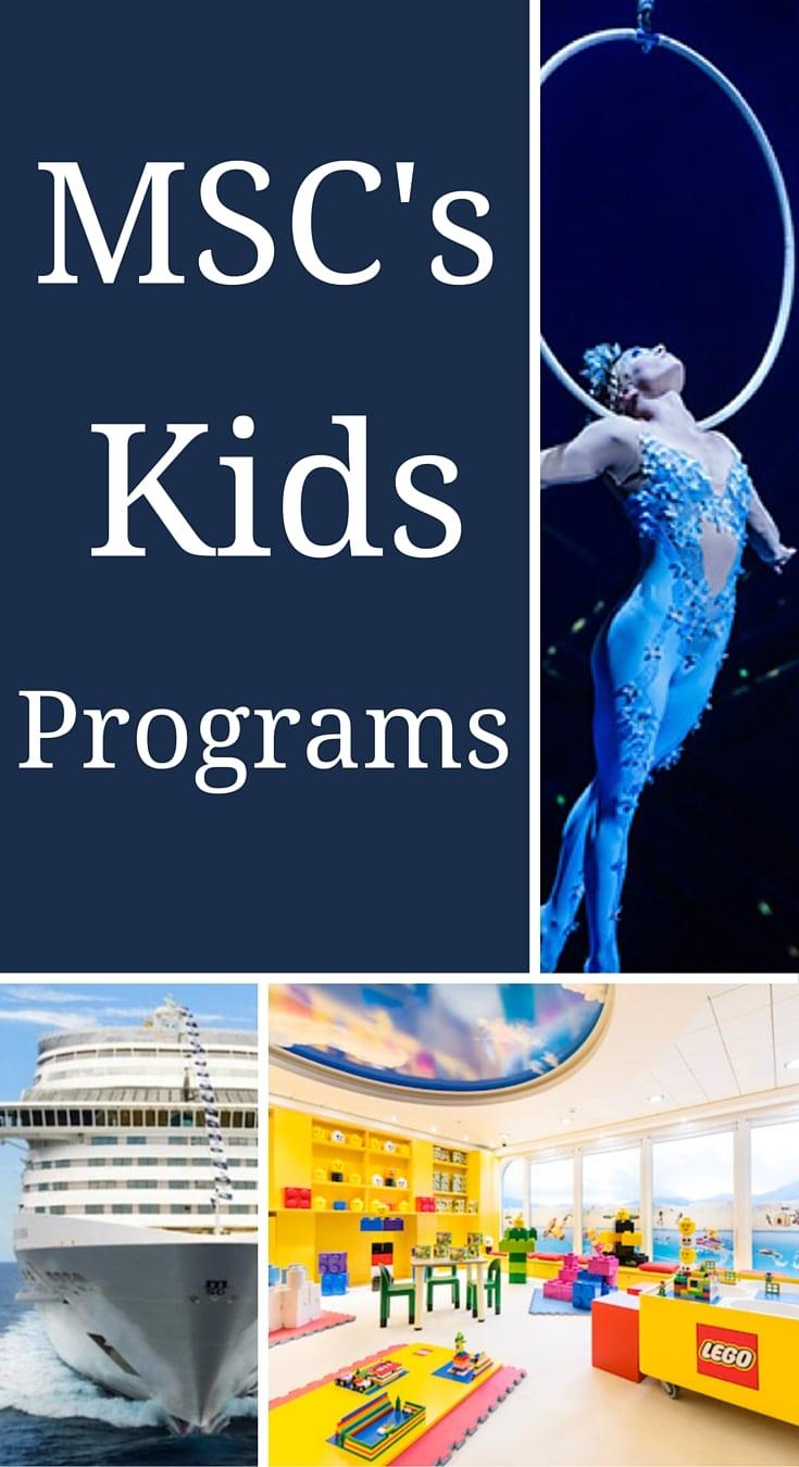 MSC's Kids Programs - #MSC #MSCLine #cruiseline #cruiseship #familytravel #cruising #travel #wanderlust #adventure #kids