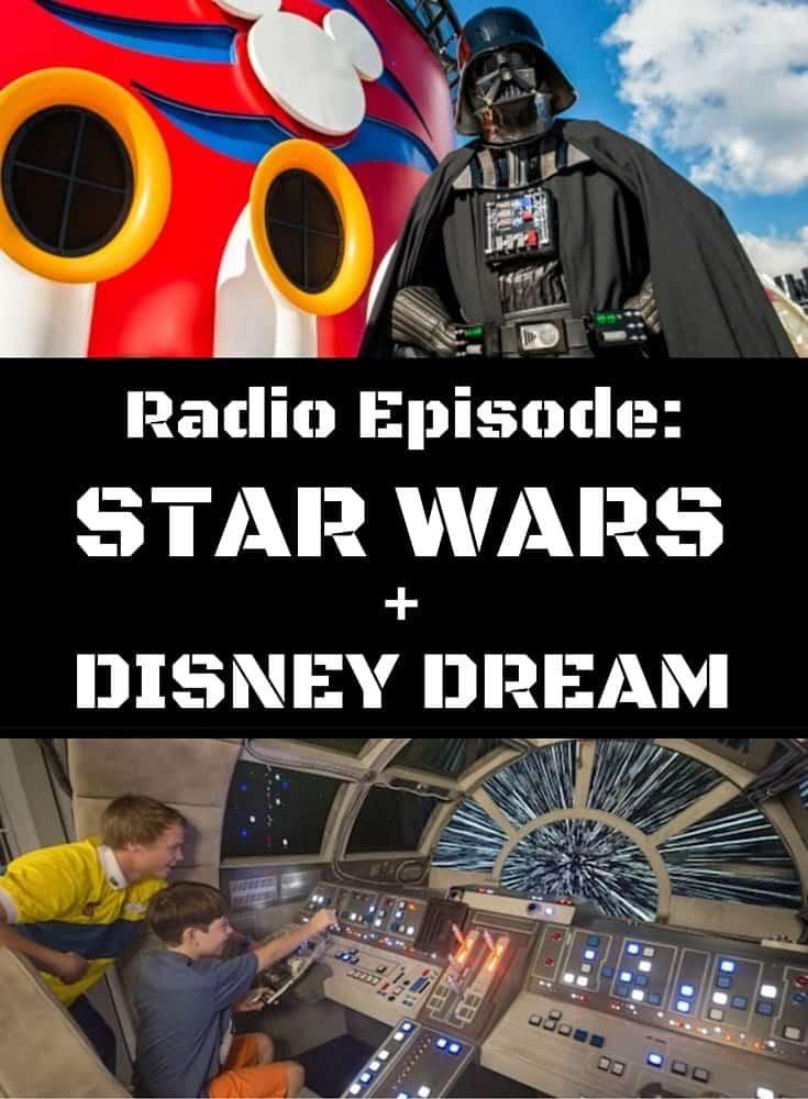Cruise Radio - We hear about Disney Dream and her new Star Wars Enhancements #starwars #theforceawakens #milenniumfalcon #darthvader #cruiseradio #disneydream #disney #disneycruise #cruising #cruiseline #cruiseship #vacation #travel