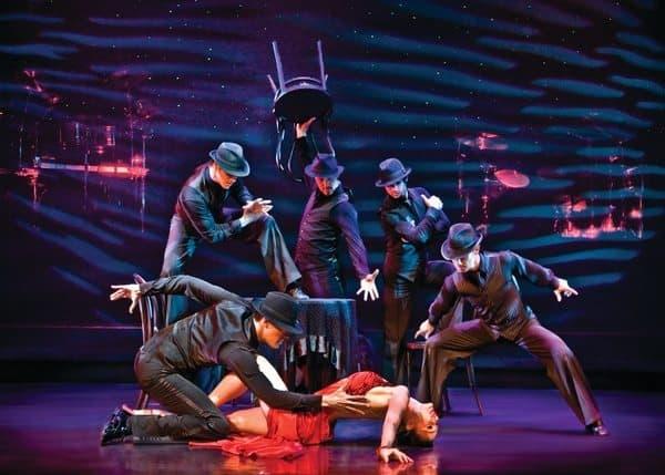Burn the Floor Tango Dancers
