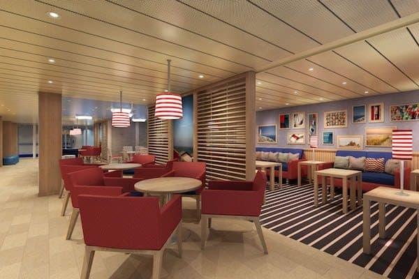 Family Harbor Lounge - rendering: Carnival Cruise Line