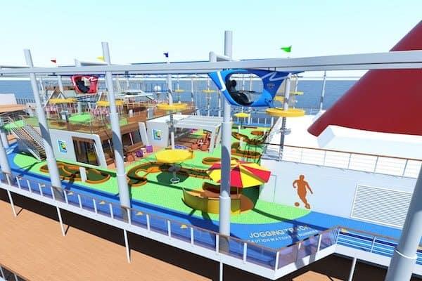 rendering: Carnival Cruise Line