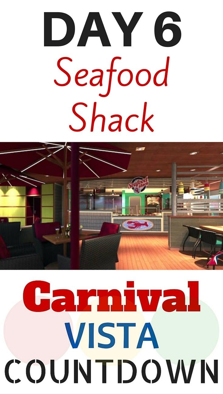 Carnival Vista Countdown #carnival #carnivalvista #seafood #food #cruise #travel #vacation