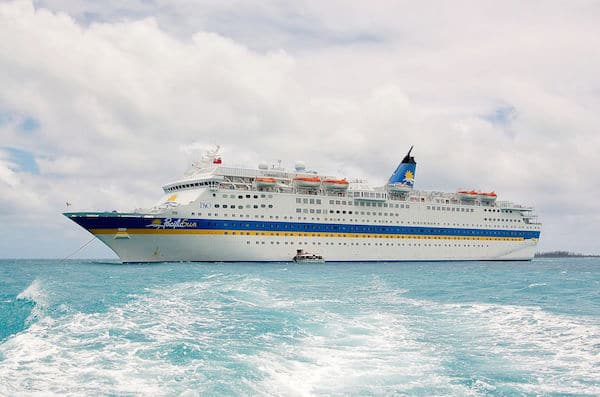 Jubilee as Pacific Sun for P&O - photo: Wikipedia