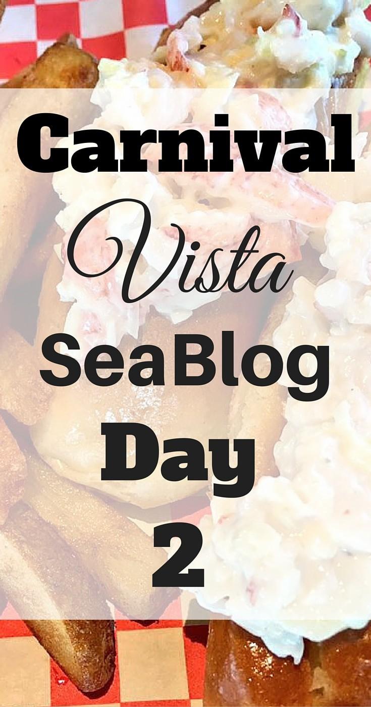 Carnival Vista #cruise #travel #lobster #food #carnival #carnivalvista #seablog #cruiseradio