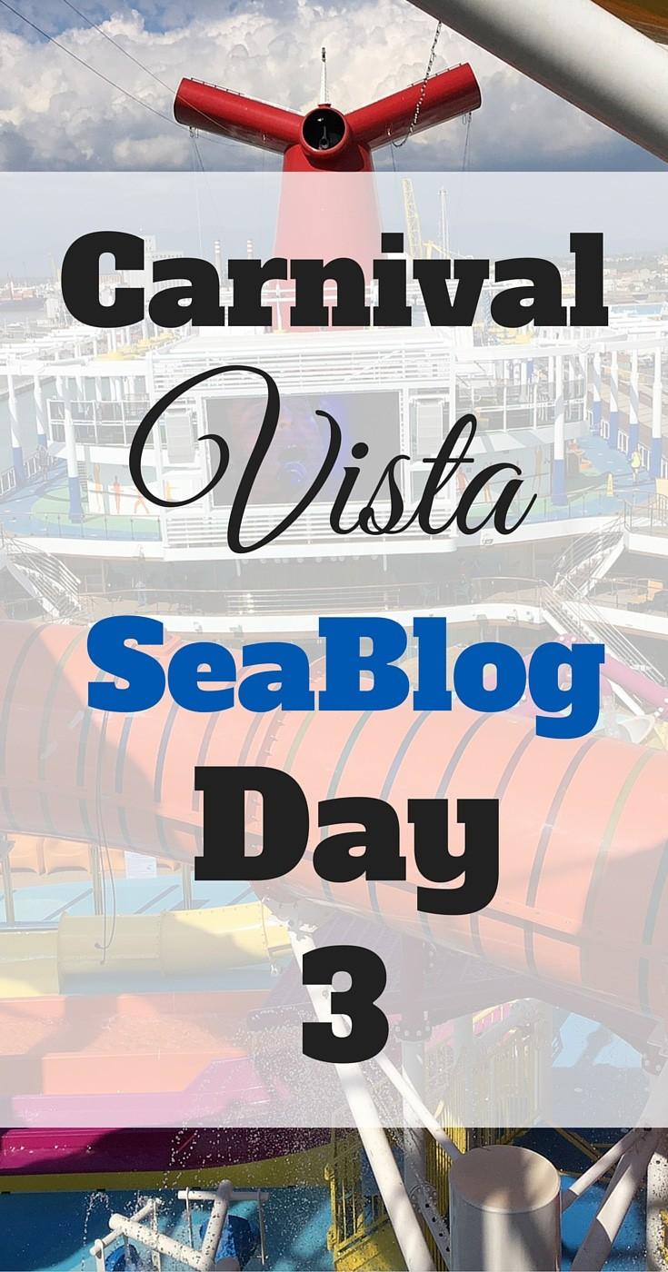 Carnival Vista #seablog #cruise #carnival #vista #carnivalvista #vacation #travel