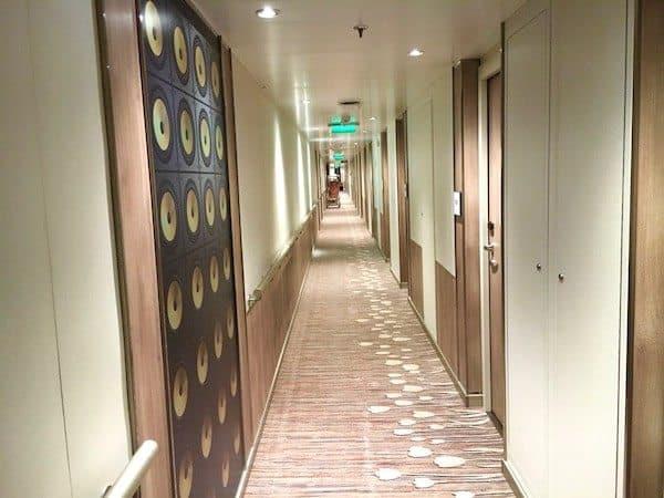 bright and modern hallway