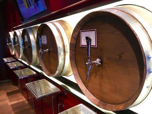 BLEND wine making