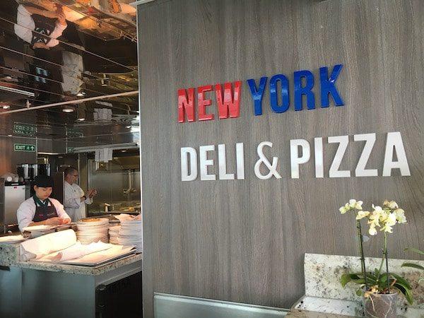 New York Deli & Pizza entrance