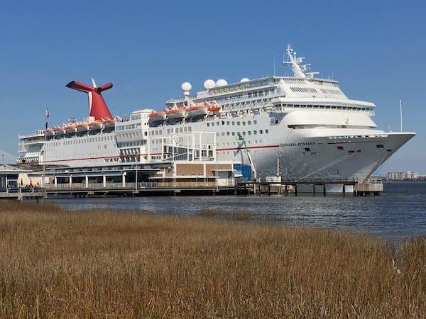 Docked in Charleston, South Carolina