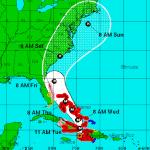 Hurricane Matthew Alters Cruise Itineraries