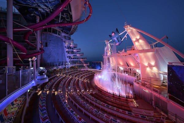 aquatheater harmony of the seas