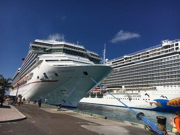 carnival conquest nassau bahamas