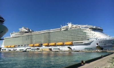 harmony of the seas ship exterior
