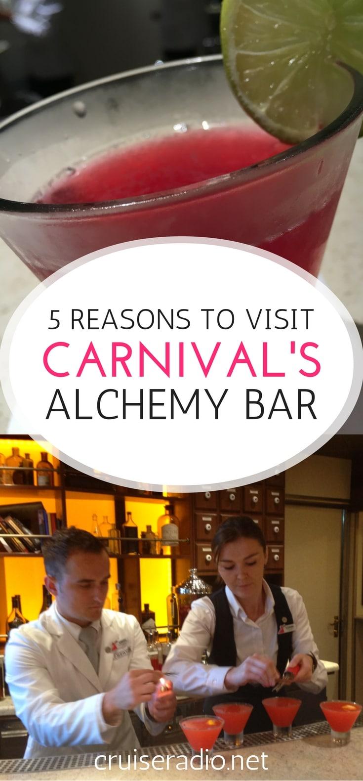 #carnival #alchemybar #bar #ship #cruise #travel #cruising #vacation #drinks