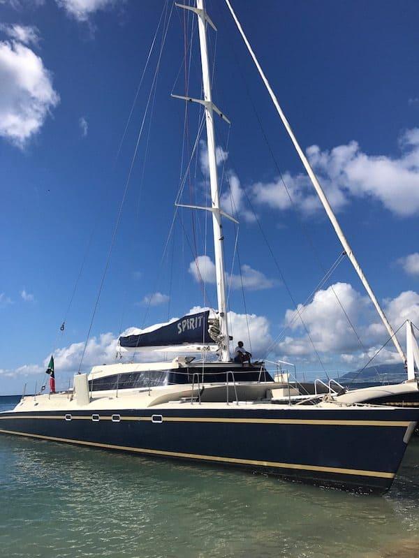 st. kitts nevis boat