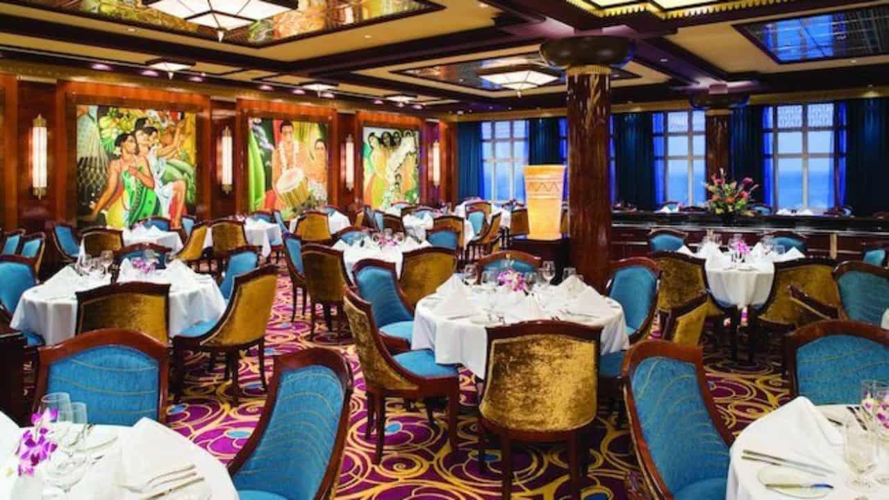 Cruise Line Dining Explained