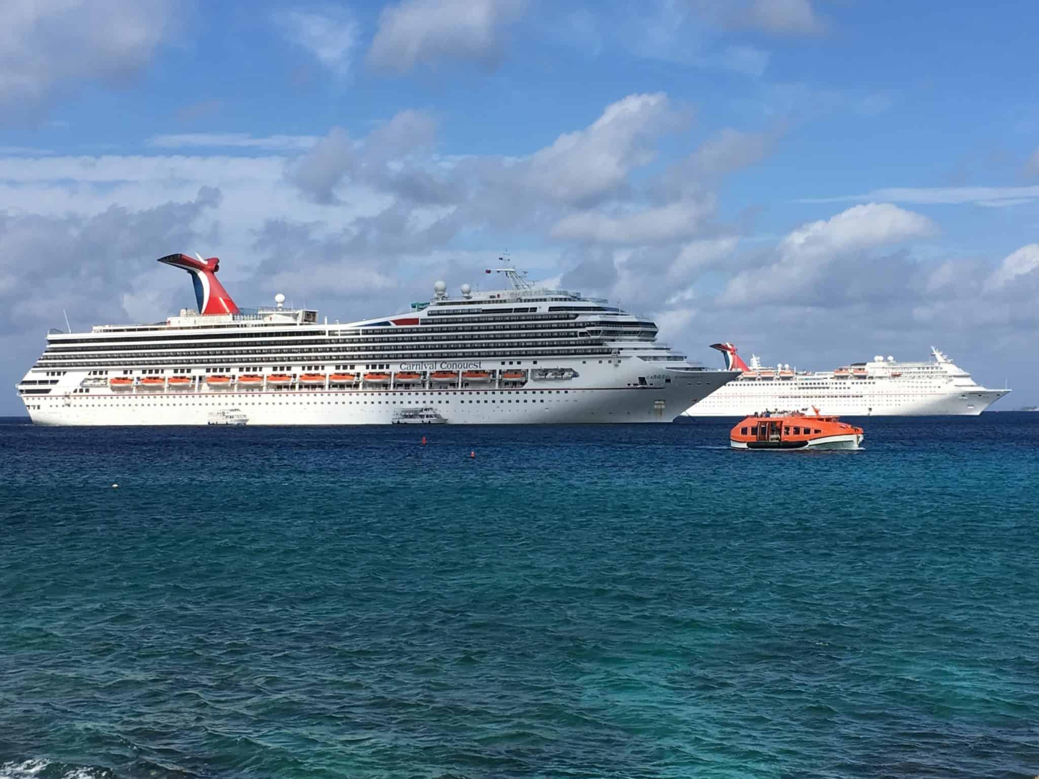 carnival ship grand cayman