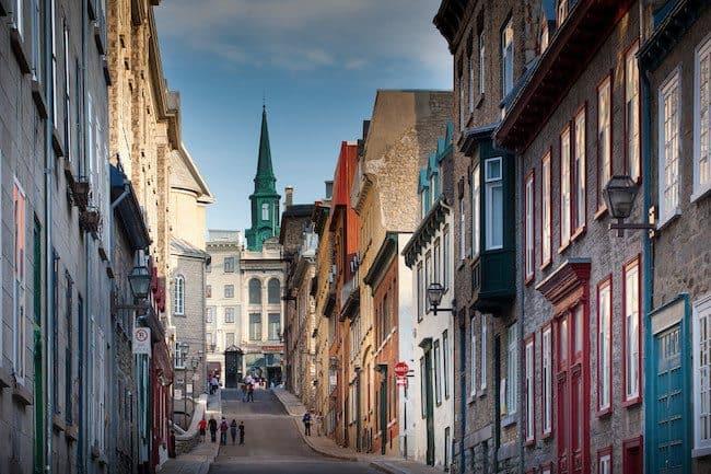 montreal canada street holland america