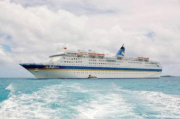 Former Carnival Cruise Line ship