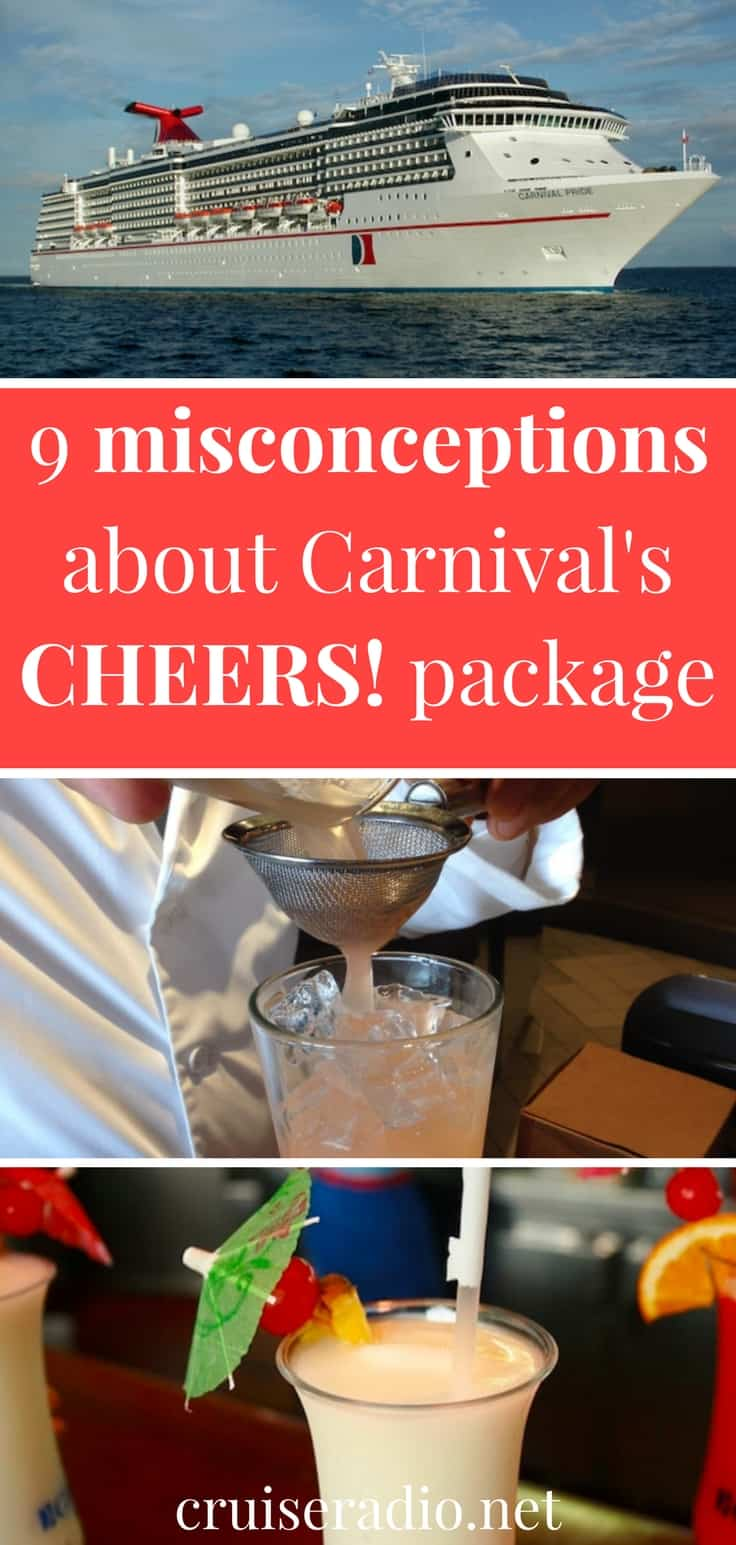 9 Carnival Drink Package Misconceptions