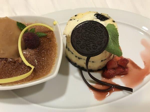 norwegian star desserts steakhouse cheesecake food