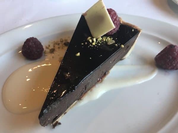 norwegian star dessert chocolate tart cruise