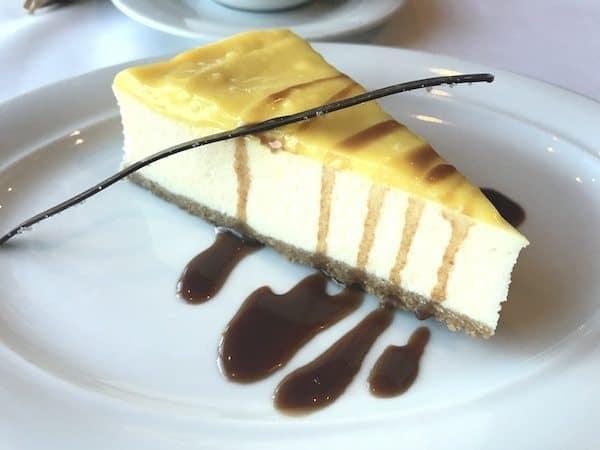 lemon ricotta cheesecake norwegian star dessert