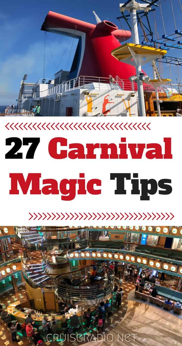 27 Carnival Magic Cruise Tips