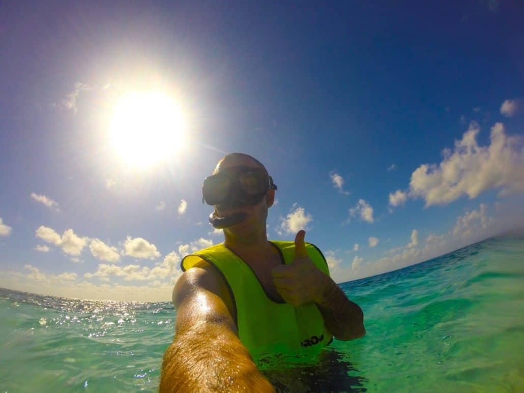 Snorkeling Wonders of Barrier Reef in Belize