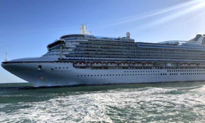 Port Everglades Cruise Ship Sailaway [PHOTOS]
