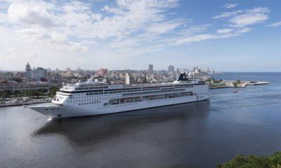 MSC Armonia Heading to Miami
